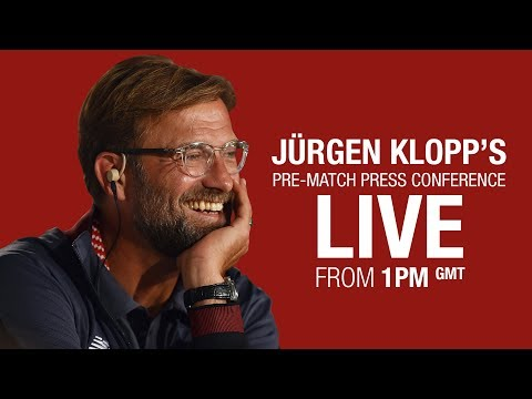 Jürgen Klopp's Chelsea press conference from Melwood