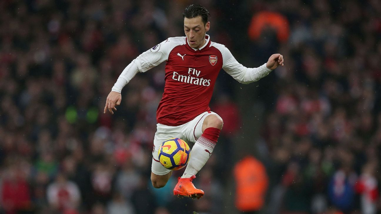 Arsenal boss Arsene Wenger: Mesut Ozil has a 'more determined attitude'