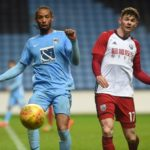 Ghanaian forward Kwame Thomas hitting the ground running at Coventry City