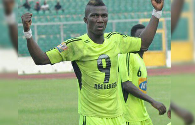 Hearts and Kotoko have approached me - Former Bechem striker Abednego Tetteh