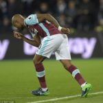 Andre Ayew in line to face Daniel Amartey's Leicester on Friday