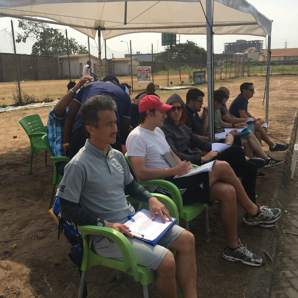 PHOTOS: New Inter Allies coach Kenichi begins work ahead of official unveiling