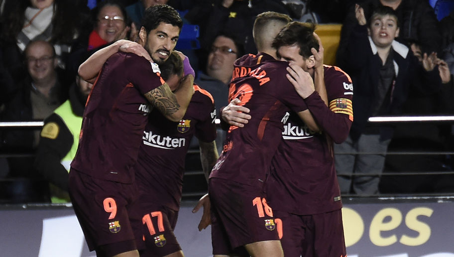 Villarreal 0-2 Barcelona: Messi Inspired La Liga Leaders Extend Unbeaten Run to Go Five Points Clear