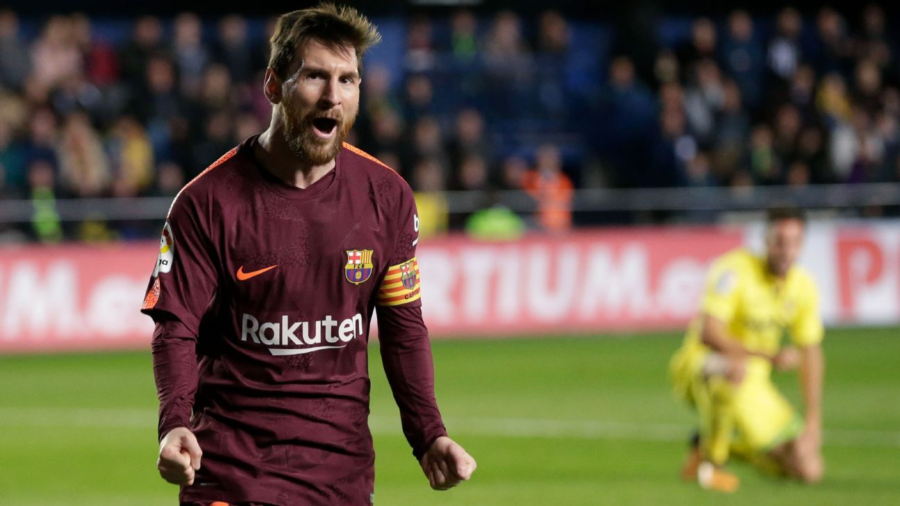 Suarez, Messi goals restore Barcelona's cushion atop La Liga