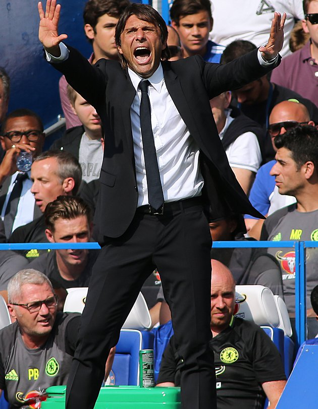 Conte fast losing support inside Chelsea boardroom