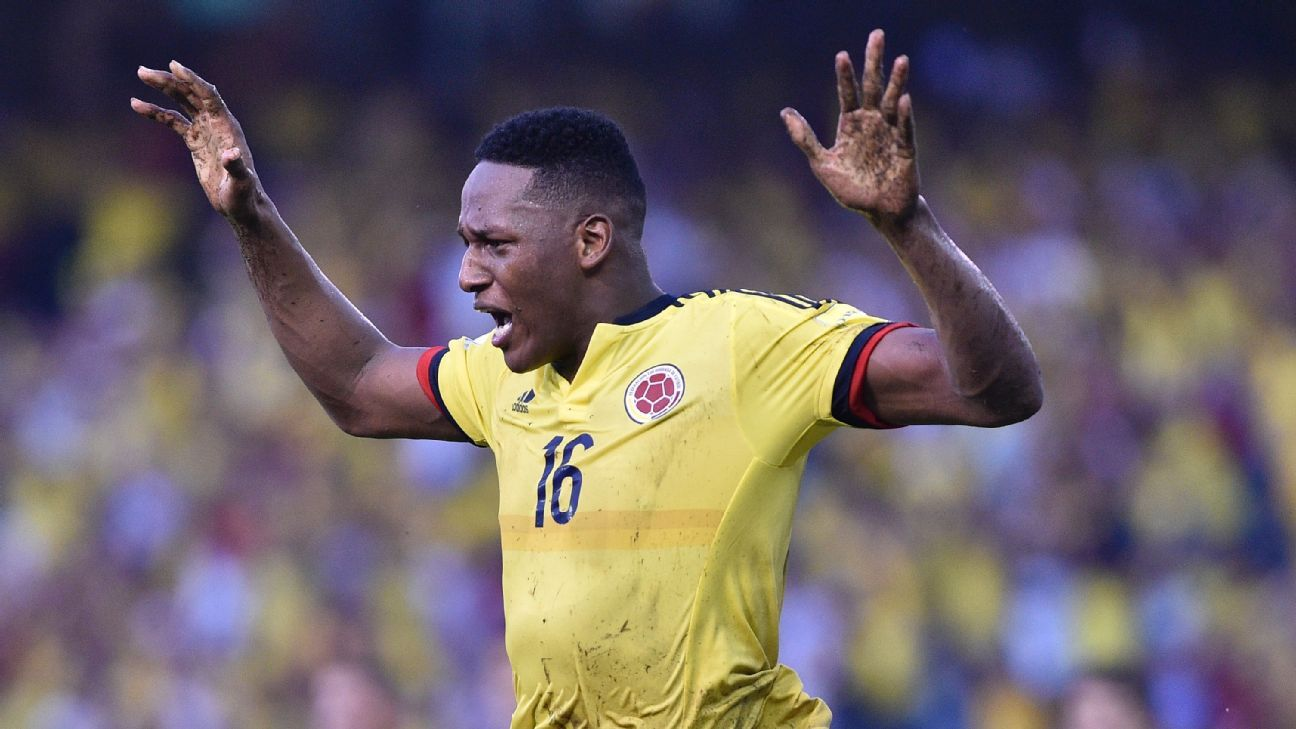 Barcelona haven't enquired about January move for Yerry Mina - agent