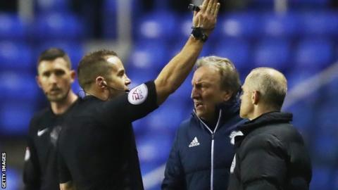 Warnock charged with misconduct by FA
