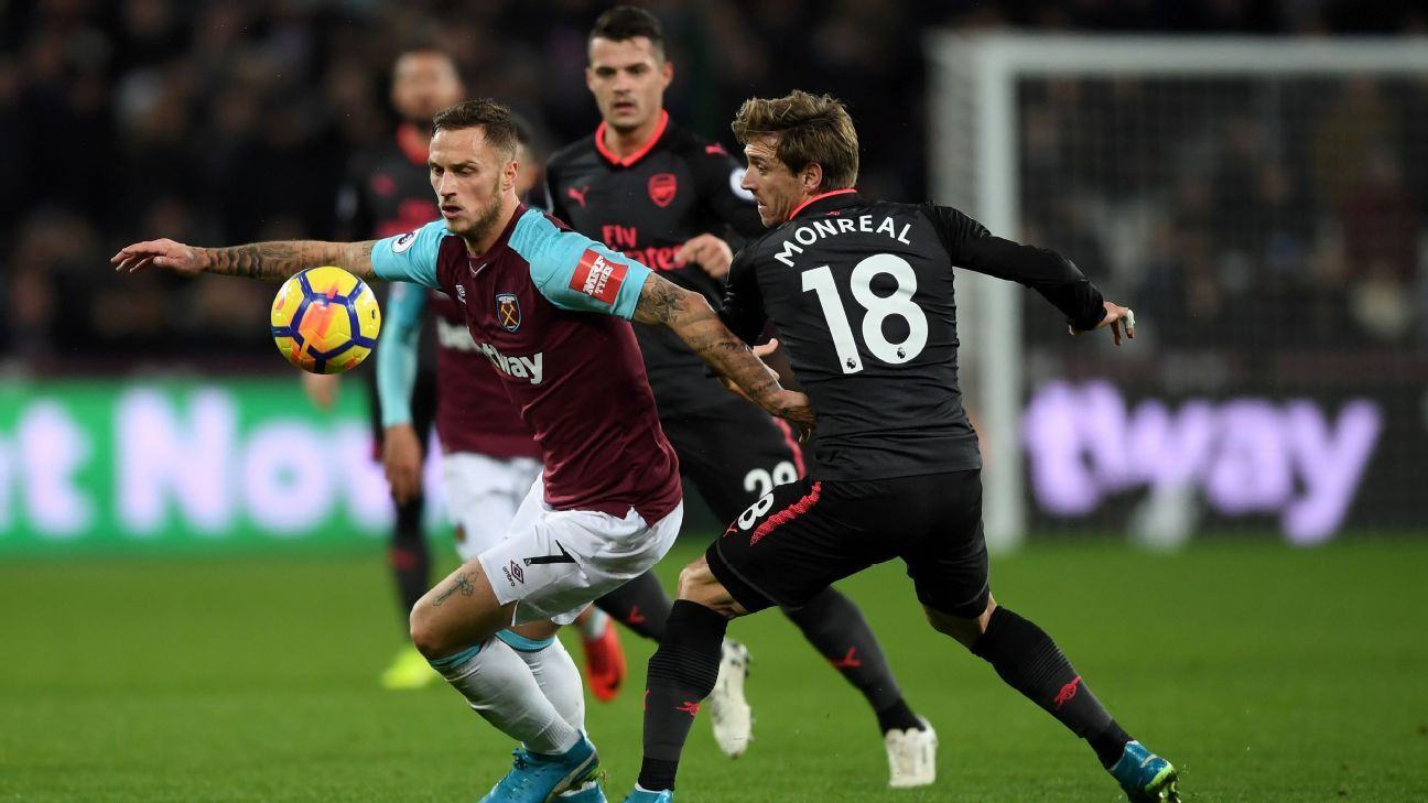 West Ham were spoilers again under Moyes, frustrating Arsenal in draw