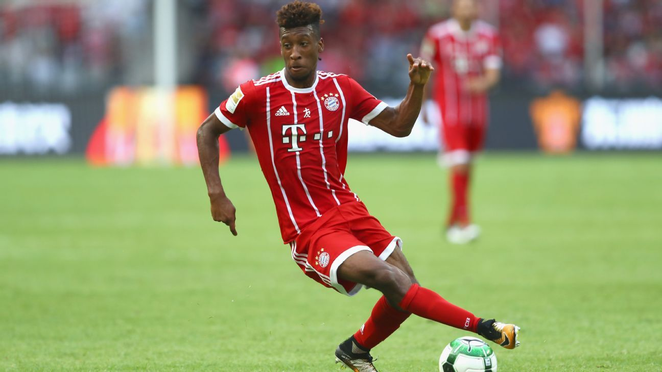 Bayern Munich sign Kingsley Coman to contract extension through 2023