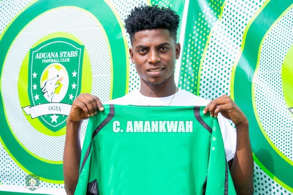 Caleb Amankwa insists he joined Aduana for change of environment