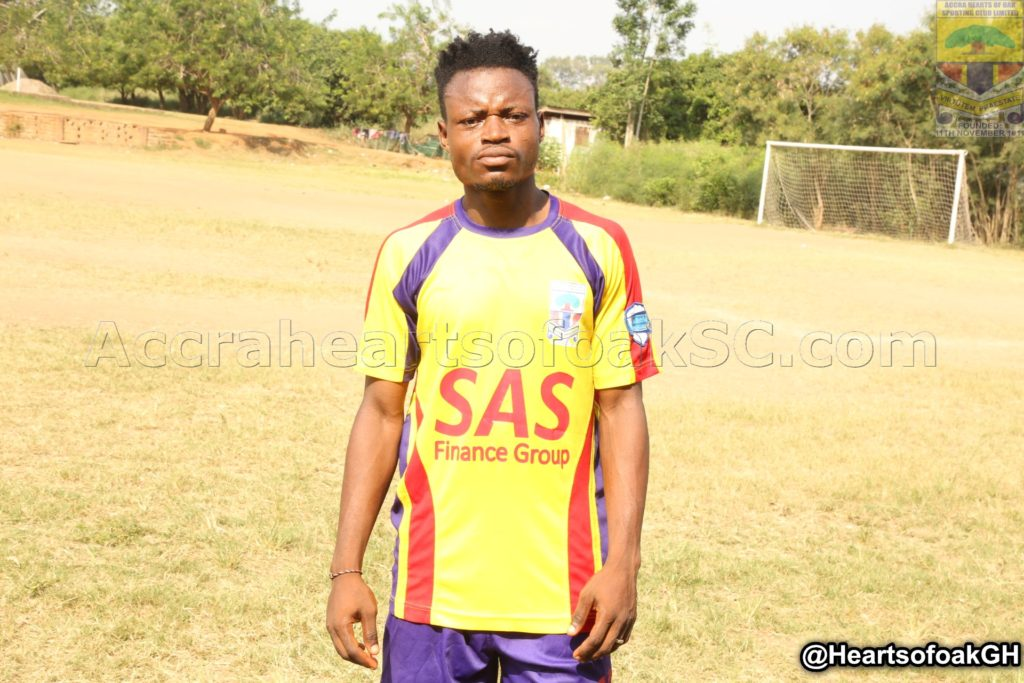 Hearts midfielder Amin Alhassan rejoins club after loan at Olympics