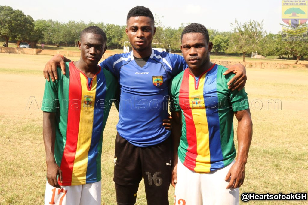 Hearts promote three Auroras players to senior side
