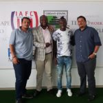 MLS star Dominic Oduro tours former Club Inter Allies