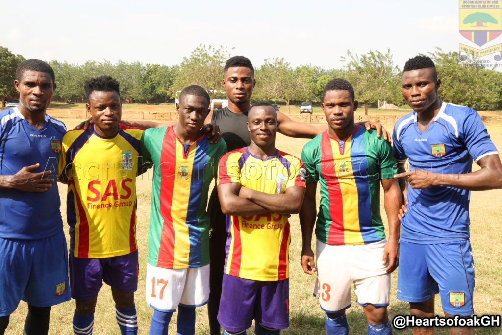 Accra Hearts of Oak begin preseason training
