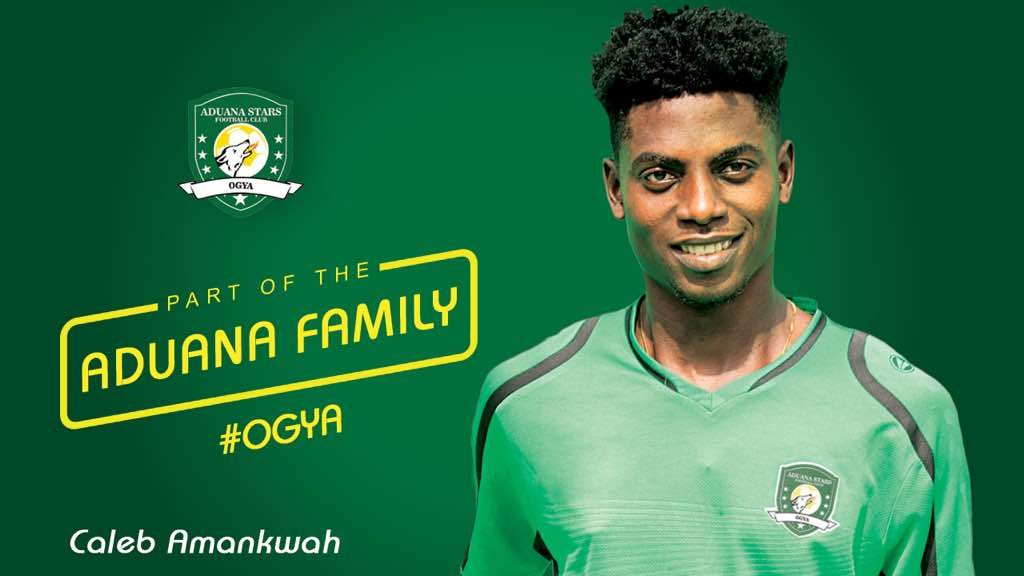 OFFICIAL: Aduana Stars complete signing of Caleb Amankwah from WAFA