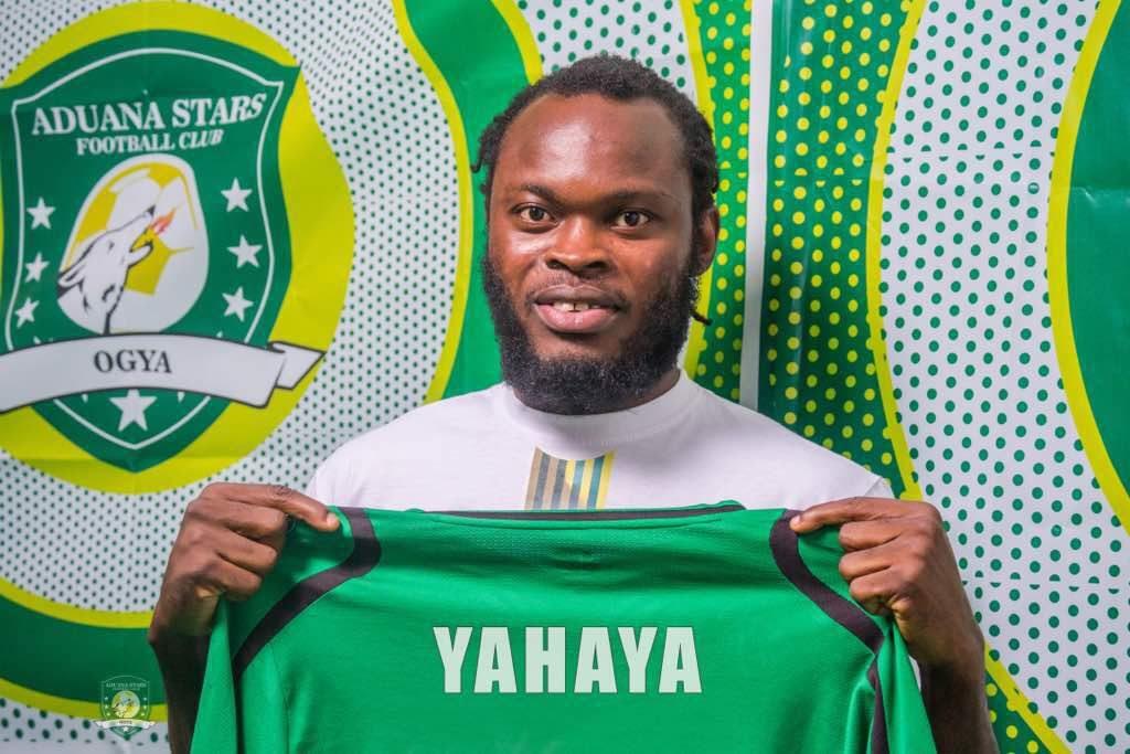 OFFICIAL: Yahaya Mohammed returns to Aduana Stars