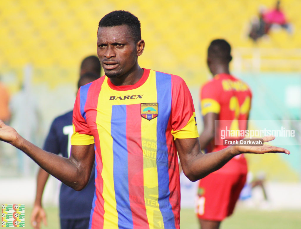 Hearts of Oak's Leonard Tawiah edges closer to joining League champions Aduana Stars