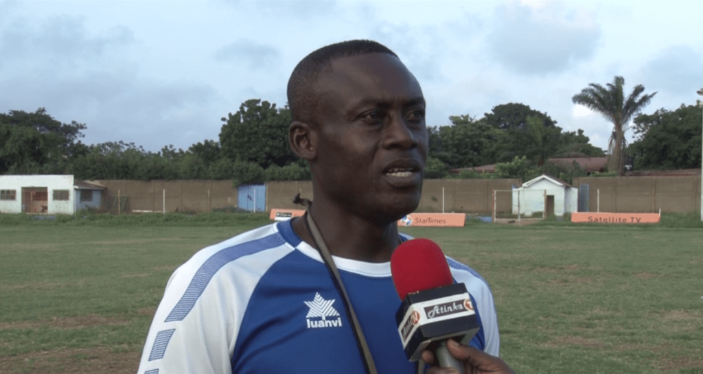 Liberty Coach Michael Osei unsure of Captain Samuel Sarfo's future at the club