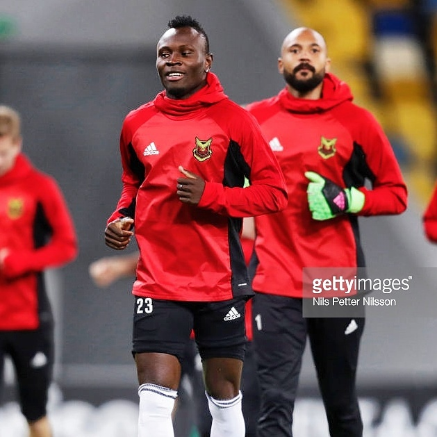 Samuel Mensah insists drawing Arsenal in Europa League is good for Ostersunds