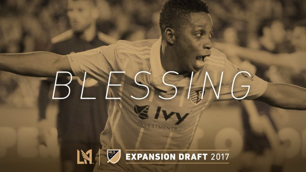 Latif Blessing joins MLS side Los Angeles FC from Kansas City