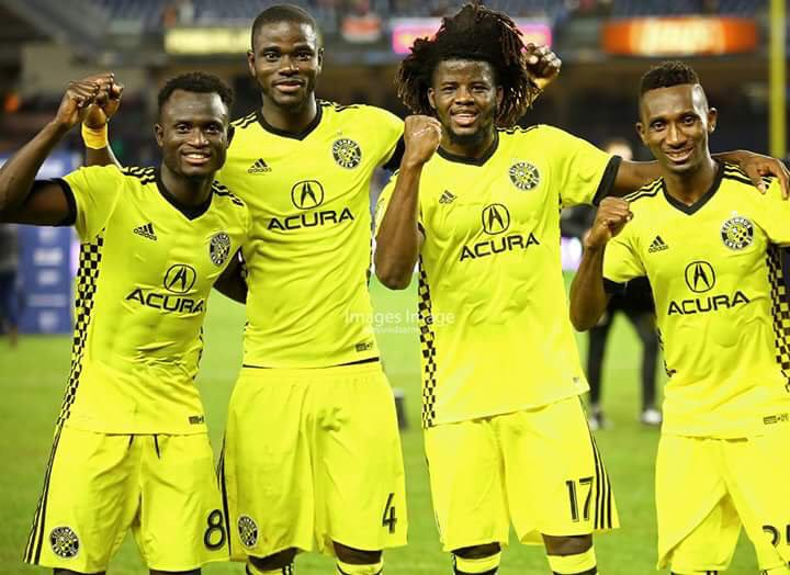 Black Stars defender Jonathan Mensah showers praise on his Ghanaian teammates at Columbus Crew