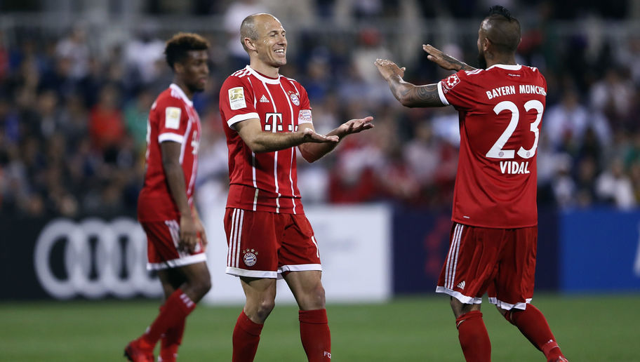 VIDEO: Bayern Munich Troll Manchester United on Twitter After Arjen Robben's Volley in Friendly