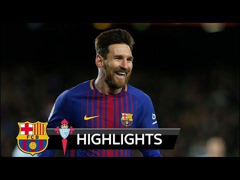 Unbelievable: Leo Messi passes penalty to Luis Suarez for Barcelona 4-1 v Celta  Vigo (Official video)