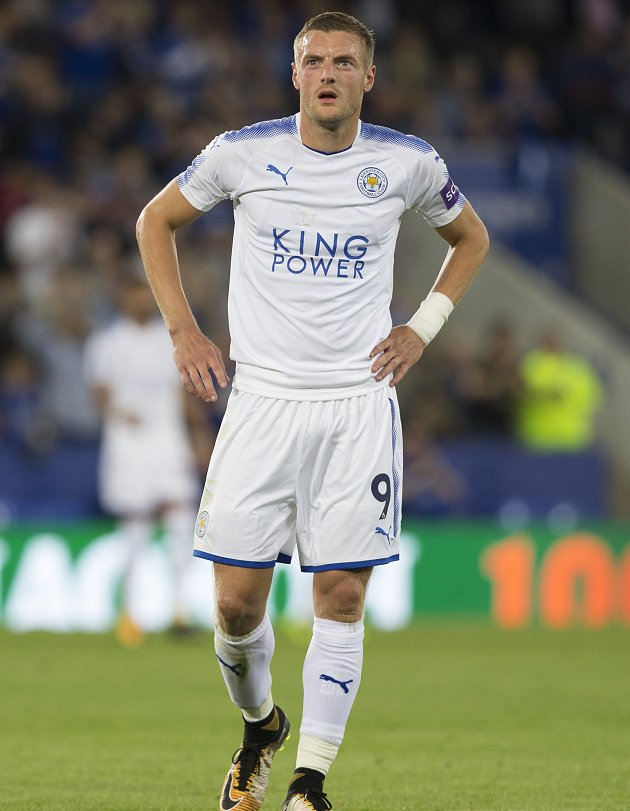Leicester confident keeping Man Utd target Vardy