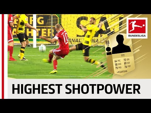 EA SPORTS FIFA 18 - Top 10 Players with Highest Shotpower: Reus, James Rodriguez & More