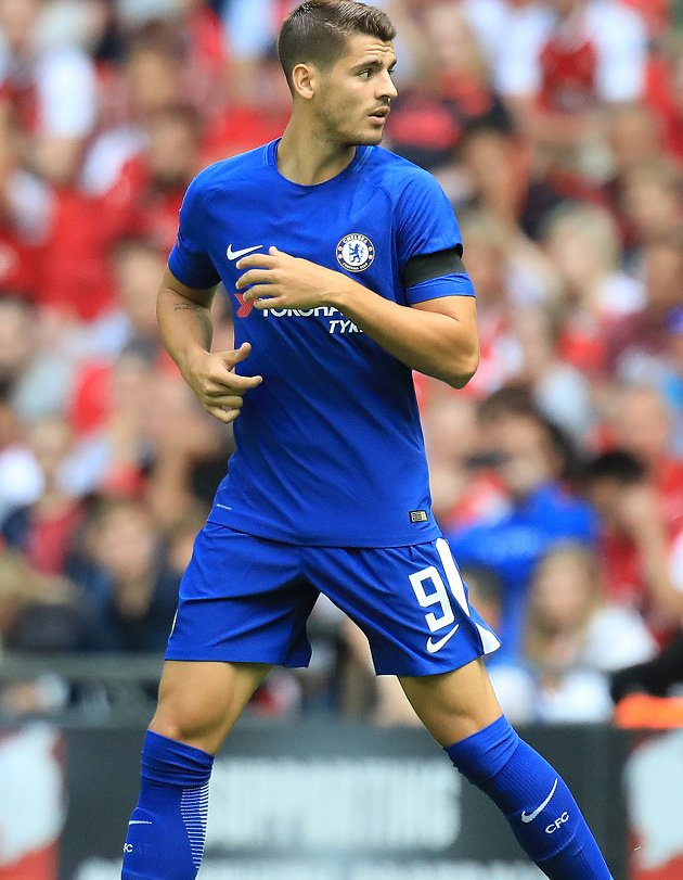 Chelsea defender Rudiger: Morata desperate for goals. We\'re all behind him