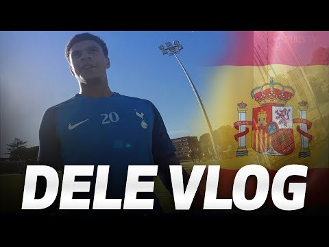 DELE ALLI TRAINING VLOG