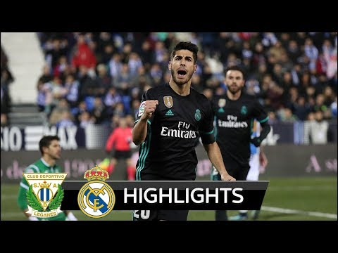 Leganes vs Real Madrid 0-1 - All Goals & Extended Highlights - La Copa 18/01/2018 HD