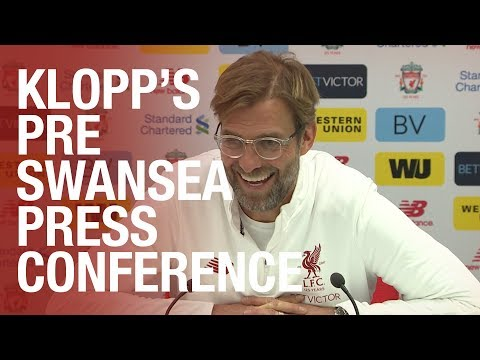 Jürgen Klopp's pre-Swansea City press conference | Injury news, Robertson's form and much more