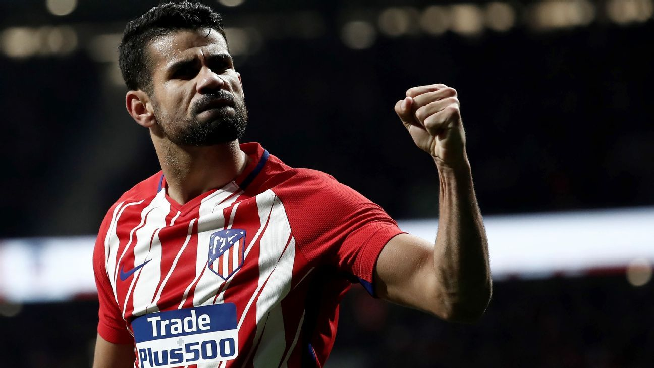 Atletico Madrid and La Liga have missed the fiery, furious Diego Costa