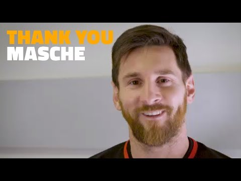 Barça players say goodbye to Javier Mascherano #GraciasMasche