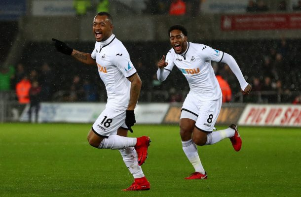 VIDEO: Jordan Ayew's quality finish earns Swansea FA Cup win