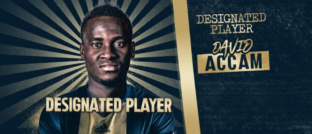 Philadelphia Union Sporting Director praises David Accam capture