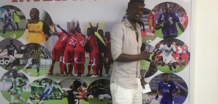 David Addy visits former club Inter Allies