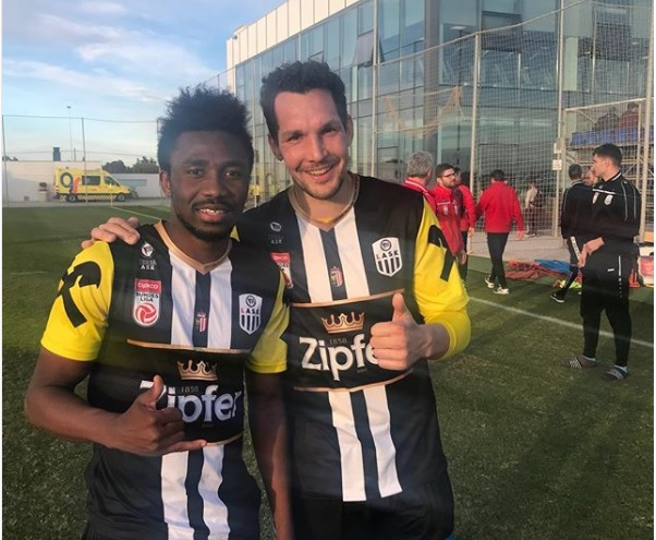 Samuel Tetteh opens goal scoring account at LASK as they beat Yanbian