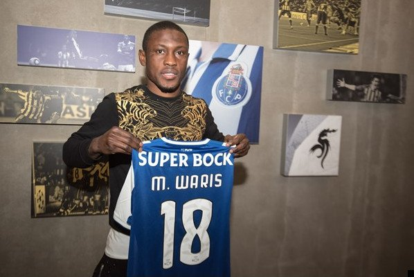 Ghana striker Majeed Waris wants to scores more goals at new Club FC Porto