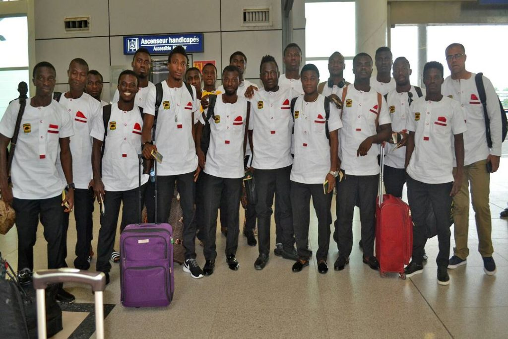 Asante Kotoko arrive in Ghana after CAF Confederations Cup elimination [PICTURES]