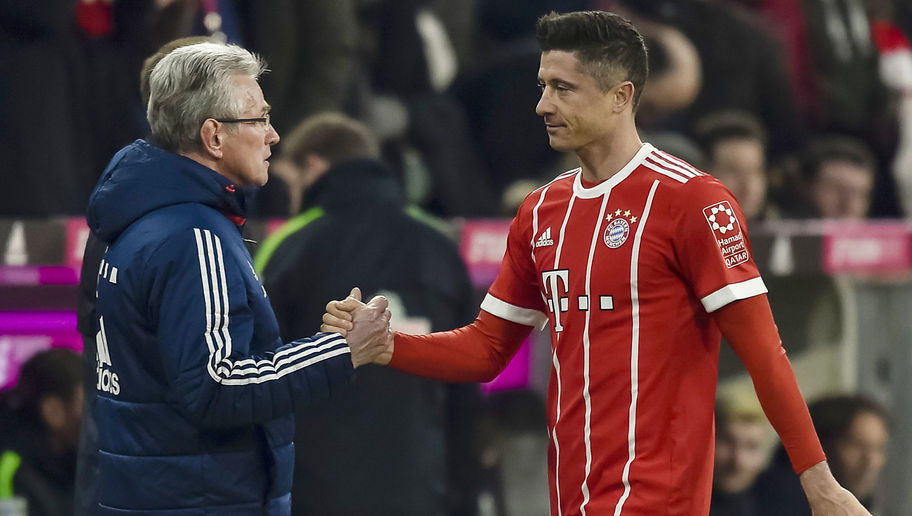 Jupp Heynckes Jokes About Substituting Lewandowski Before He Can Equal Boss' Goal Record