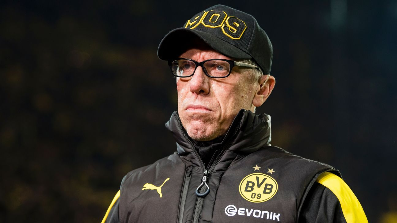 Borussia Dortmund could keep Peter Stoger longer as coach - CEO