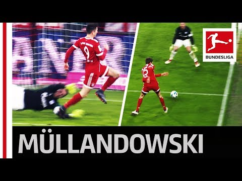 Typical Müller Goal and Lewandowski Record - Unstoppable Bayern