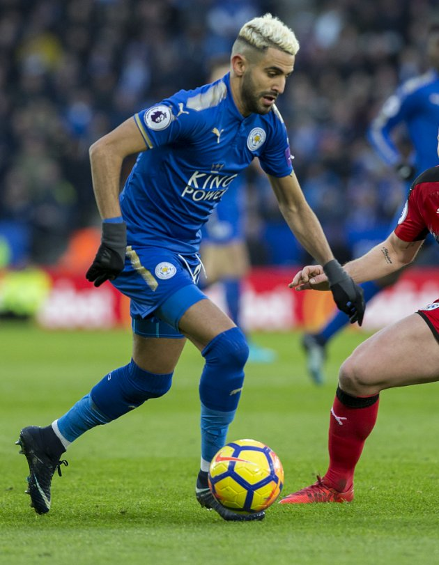 Leicester manager Puel urges Diabate: Follow Mahrez!