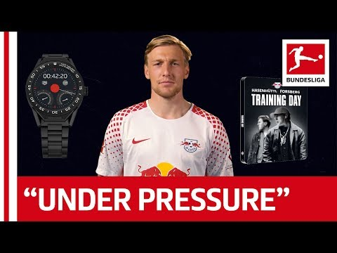 Emil Forsberg listens to Michael Jackson - 60 Seconds Quick-Fire Questions