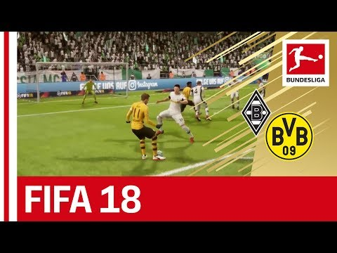 Mönchengladbach vs. Dortmund - FIFA 18 Prediction with EA Sports