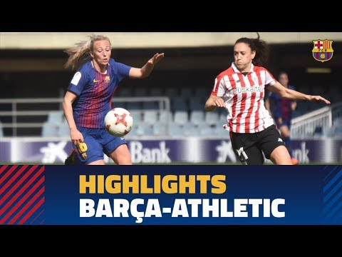 [HIGHLIGHTS] FUTBOL FEM (Liga): FC Barcelona - Athletic (0-1)