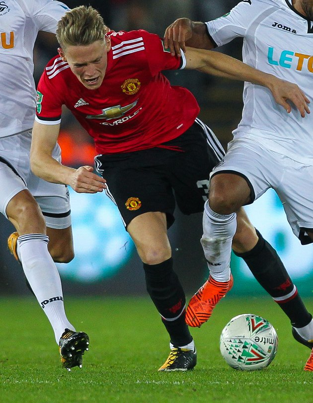 Man Utd boss Mourinho: McTominay played like a real man