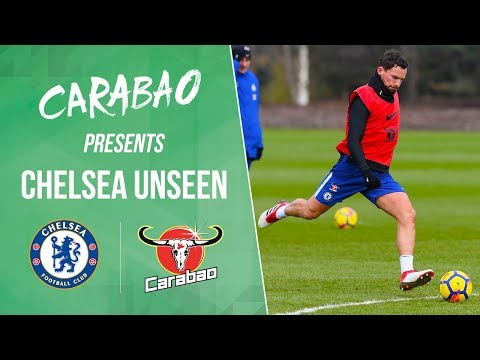 Morata, Drinkwater & Cahill Score Screamers In Shooting Practice | Chelsea Unseen